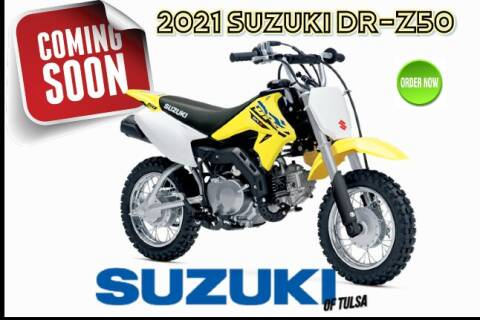 2021 Suzuki DR-Z50 for sale at Suzuki of Tulsa in Tulsa OK