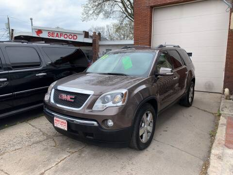 2012 GMC Acadia for sale at Frank's Garage in Linden NJ