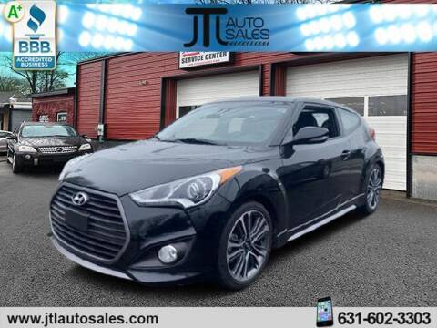 2016 Hyundai Veloster for sale at JTL Auto Inc in Selden NY