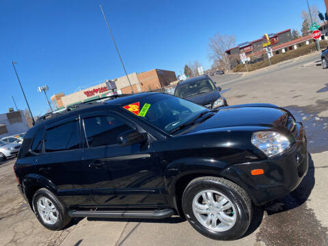 2008 Hyundai Tucson for sale at Sanaa Auto Sales LLC in Denver CO