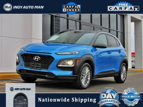 2018 Hyundai Kona for sale at INDY AUTO MAN in Indianapolis IN