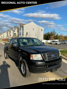 2005 Ford F-150 for sale at REGIONAL AUTO CENTER in Stafford VA