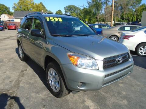 2008 Toyota RAV4 for sale at DISCOVER AUTO SALES in Racine WI