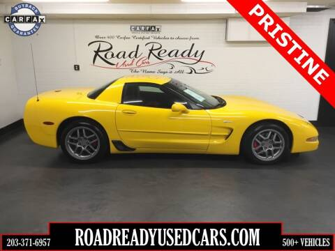 2004 Chevrolet Corvette for sale at Road Ready Used Cars in Ansonia CT