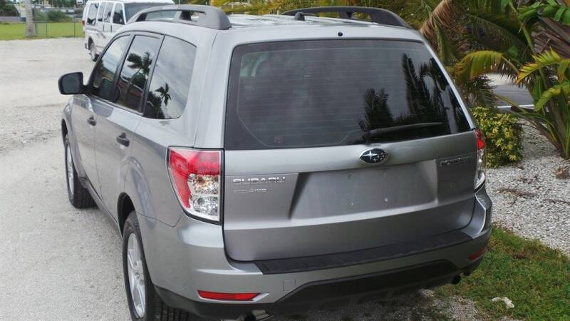 2011 Subaru Forester AWD 2.5X 4dr Wagon 4A - Fort Myers FL