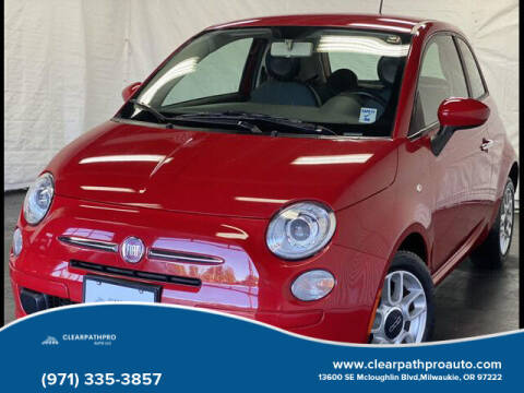 2012 FIAT 500 for sale at CLEARPATHPRO AUTO in Milwaukie OR