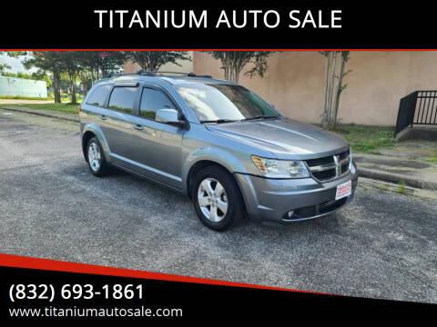 2010 Dodge Journey for sale at TITANIUM AUTO SALE in Houston TX