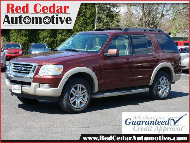 2009 Ford Explorer for sale at Red Cedar Automotive in Menomonie WI