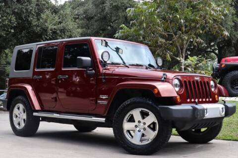 2010 Jeep Wrangler Unlimited for sale at SELECT JEEPS INC in League City TX