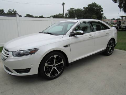 2015 Ford Taurus for sale at D & R Auto Brokers in Ridgeland SC
