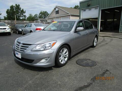 2012 Hyundai Genesis for sale at KRG Motorsport in Goffstown NH