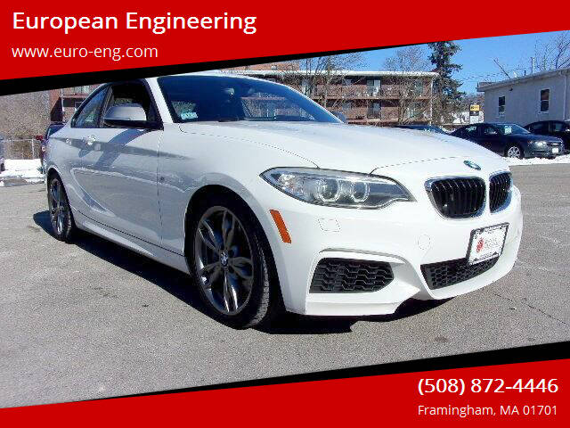2014 BMW 2 Series for sale at European Engineering in Framingham MA