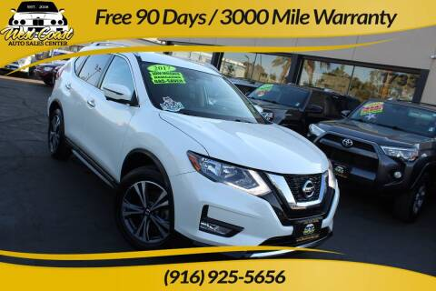 2017 Nissan Rogue for sale at West Coast Auto Sales Center in Sacramento CA
