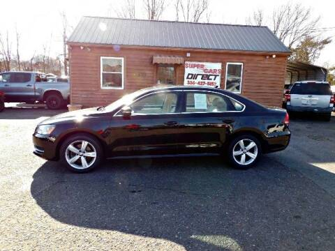 2013 Volkswagen Passat for sale at Super Cars Direct in Kernersville NC