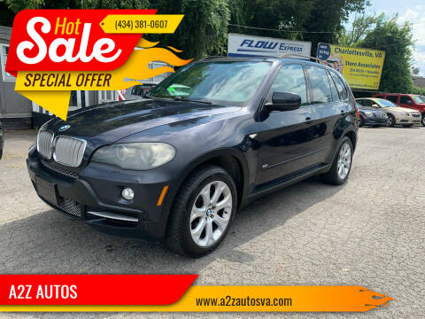 2007 BMW X5 for sale at A2Z AUTOS in Charlottesville VA