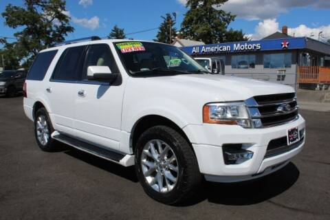 2016 Ford Expedition for sale at All American Motors in Tacoma WA