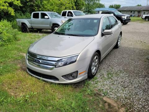 2010 Ford Fusion for sale at Clare Auto Sales, Inc. in Clare MI