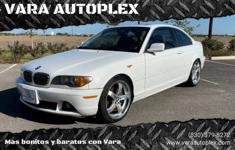 2004 BMW 3 Series for sale at VARA AUTOPLEX in Seguin TX