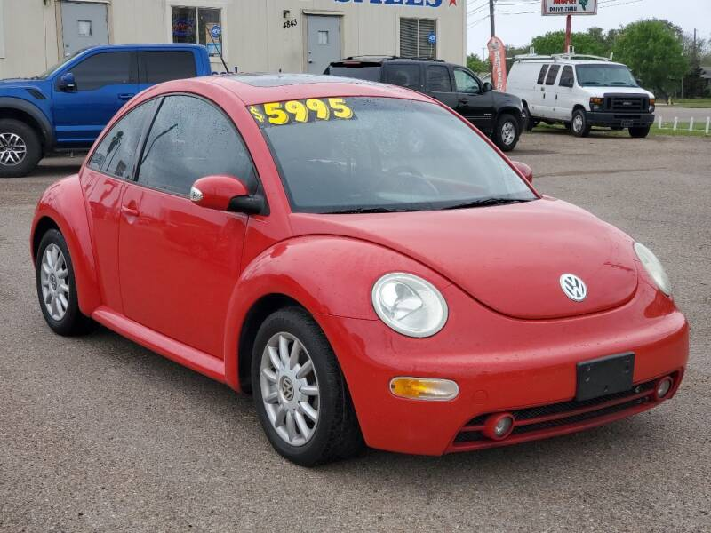 2005 Volkswagen New Beetle for sale at Aaron's Auto Sales in Corpus Christi TX