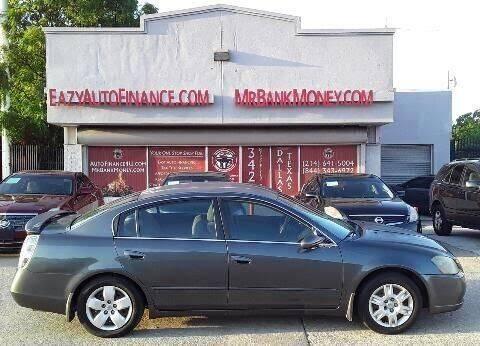 2005 Nissan Altima for sale at Eazy Auto Finance in Dallas TX