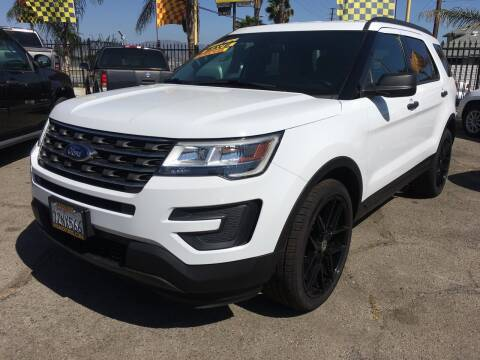2017 Ford Explorer for sale at JR'S AUTO SALES in Pacoima CA
