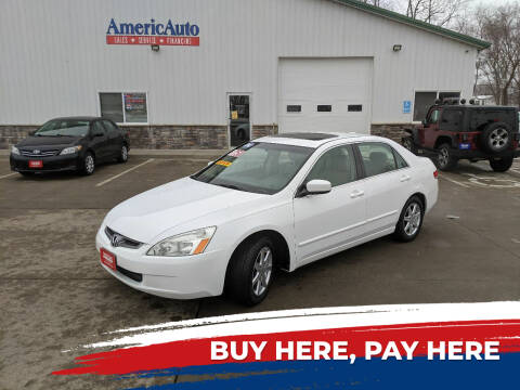 2004 Honda Accord for sale at AmericAuto in Des Moines IA
