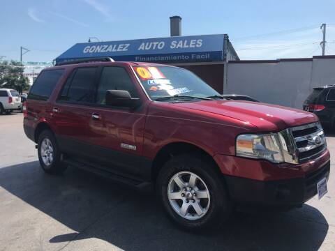 2007 Ford Expedition for sale at Gonzalez Auto Sales in Joliet IL