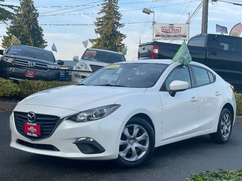 2014 Mazda MAZDA3 for sale at Real Deal Cars in Everett WA