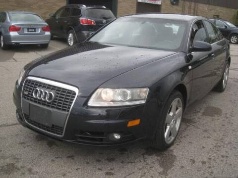 2008 Audi A6 for sale at ELITE AUTOMOTIVE in Euclid OH