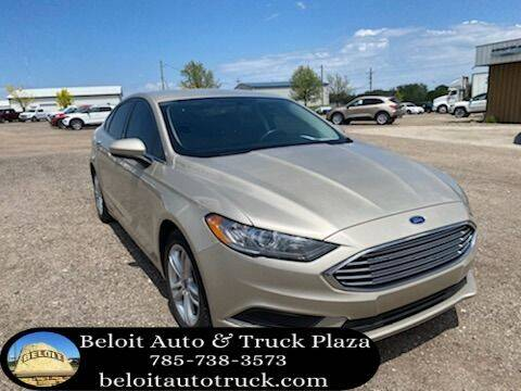 2018 Ford Fusion for sale at BELOIT AUTO & TRUCK PLAZA INC in Beloit KS