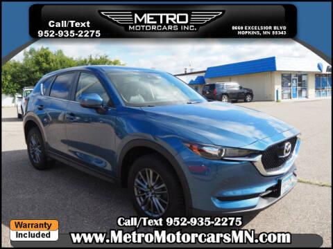 2017 Mazda CX-5 for sale at Metro Motorcars Inc in Hopkins MN