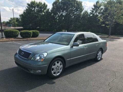 2002 Lexus LS 430 for sale at SMZ Auto Import in Roswell GA