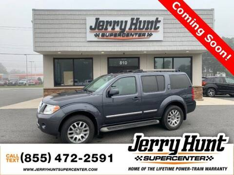 2011 Nissan Pathfinder for sale at Jerry Hunt Supercenter in Lexington NC