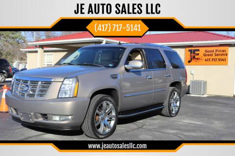 2007 Cadillac Escalade for sale at JE AUTO SALES LLC in Webb City MO
