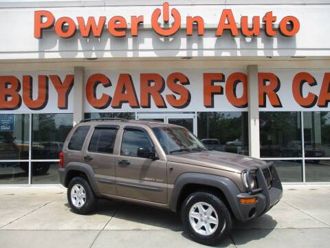 2002 Jeep Liberty for sale at Power On Auto LLC in Monroe NC