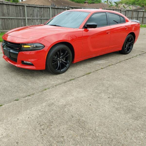 2018 Dodge Charger for sale at MOTORSPORTS IMPORTS in Houston TX