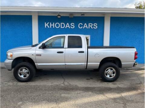 2007 Dodge Ram Pickup 2500 for sale at Khodas Cars in Gilroy CA
