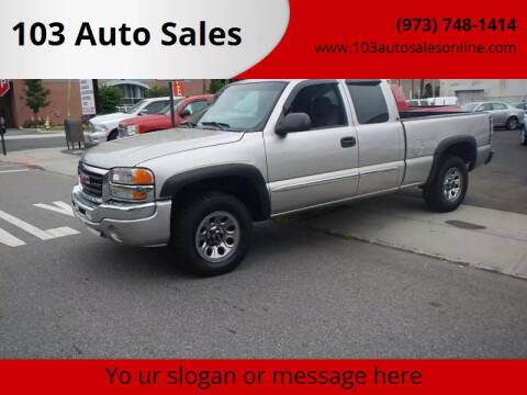 2007 GMC Sierra 1500 Classic for sale at 103 Auto Sales in Bloomfield NJ