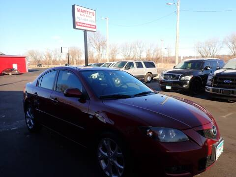 2009 Mazda MAZDA3 for sale at Marty's Auto Sales in Savage MN