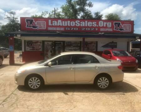 2013 Toyota Corolla for sale at LA Auto Sales in Monroe LA