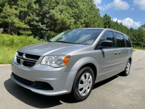 2016 Dodge Grand Caravan for sale at Carrera AutoHaus Inc in Clayton NC