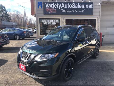 2019 Nissan Rogue for sale at Variety Auto Sales in Worcester MA