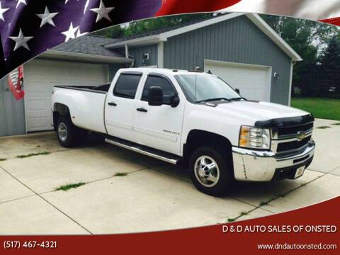 2009 Chevrolet Silverado 3500HD for sale at D & D Auto Sales Of Onsted in Onsted   Brooklyn MI