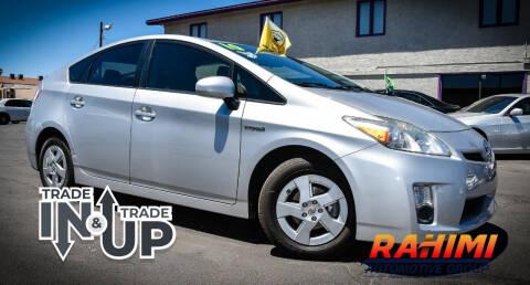 2010 Toyota Prius for sale at Rahimi Automotive Group in Yuma AZ