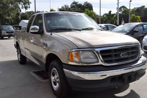 2000 Ford F-150 for sale at STEPANEK'S AUTO SALES & SERVICE INC. in Vero Beach FL