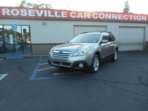 2014 Subaru Outback for sale at ROSEVILLE CAR CONNECTION in Roseville CA