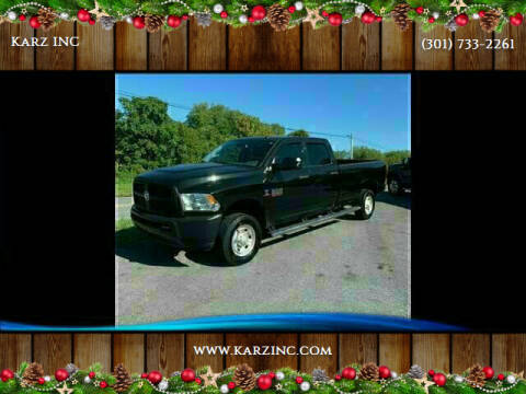2015 RAM Ram Pickup 2500 for sale at Karz INC in Funkstown MD