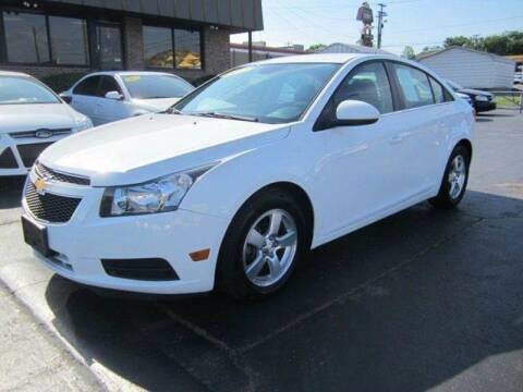 2013 Chevrolet Cruze for sale at Jacobs Auto Sales in Nashville TN
