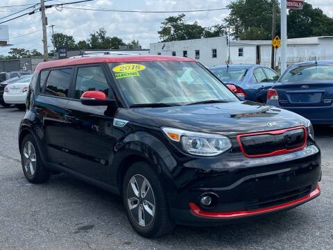 2018 Kia Soul EV for sale at MetroWest Auto Sales in Worcester MA
