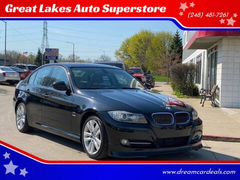2011 BMW 3 Series for sale at Great Lakes Auto Superstore in Pontiac MI